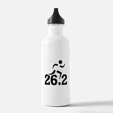 26.2 miles marathon Water Bottle
