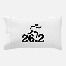 26.2 miles marathon Pillow Case