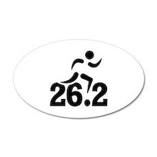 26.2 miles marathon Wall Decal