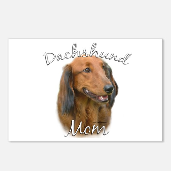 Dachshund Mom2 Postcards (Package of 8)