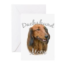 Dachshund Mom2 Greeting Cards (Pk of 20)