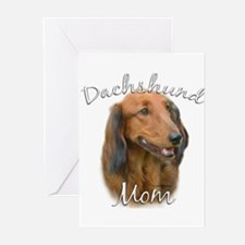 Dachshund Mom2 Greeting Cards (Pk of 20)