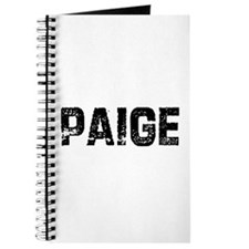 Paige Journal