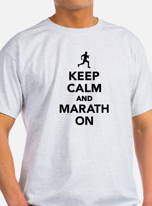 Keep calm and Marathon T-Shirt