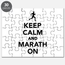 Keep calm and Marathon Puzzle