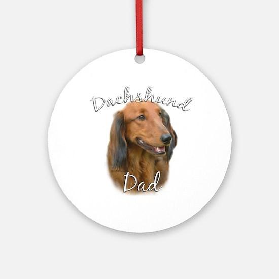 Dachshund Dad2 Ornament (Round)