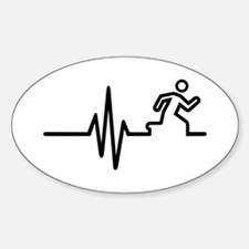 Runner frequency Decal
