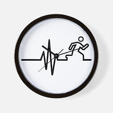 Runner frequency Wall Clock