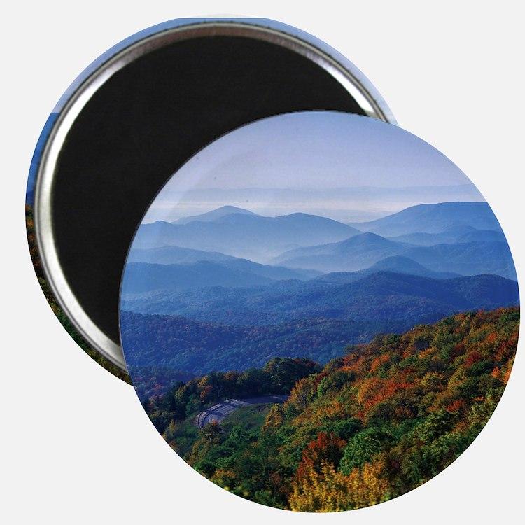 Cute North carolina mountains Magnet