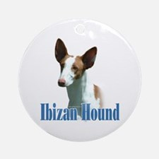 IbizanName Ornament (Round)