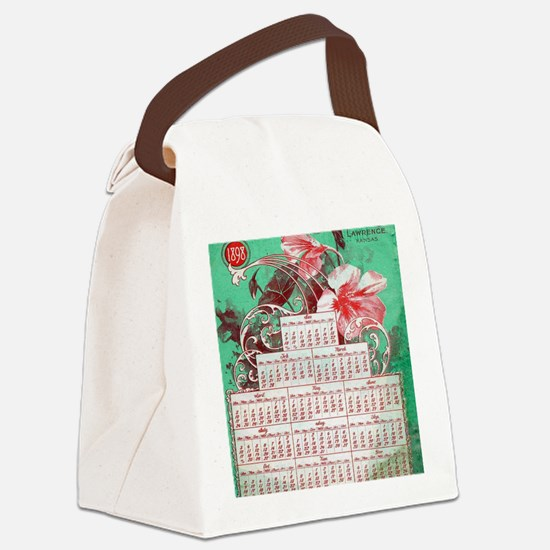 Cool Catalog Canvas Lunch Bag