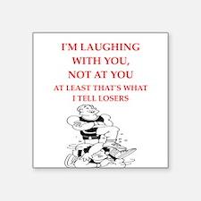 wrestling joke Sticker