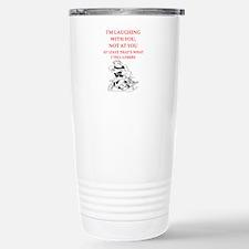 wrestling joke Travel Mug