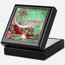 Unique Lawrence kansas Keepsake Box