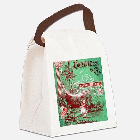 Unique Catalog Canvas Lunch Bag