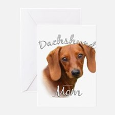 Dachshund Mom2 Greeting Cards (Pk of 10)