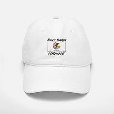 Burr Ridge Illinois Baseball Baseball Cap