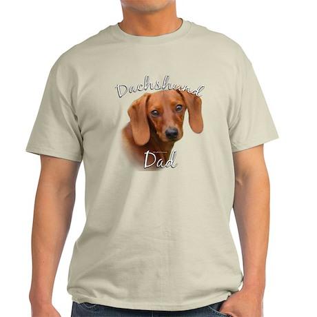 Dachshund Dad2 Light T-Shirt