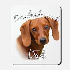 Dachshund Dad2 Mousepad