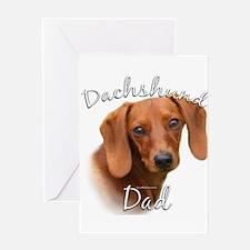 Dachshund Dad2 Greeting Card