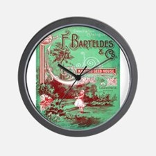Vintage poster - Kansas Seed House Wall Clock