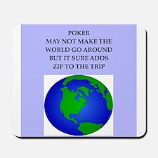poker joke Mousepad