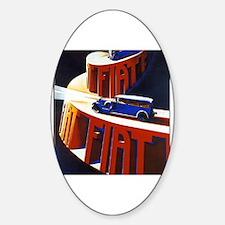 Unique Fiat Sticker (Oval)