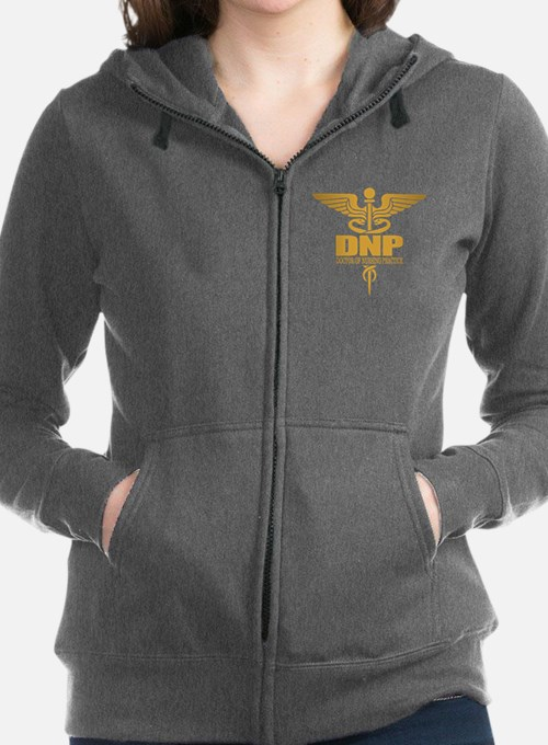 Cute Medical Women's Zip Hoodie