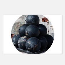 Cannon Balls Postcards (Package of 8)
