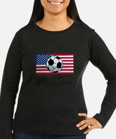 Cute Women%27s world cup T-Shirt