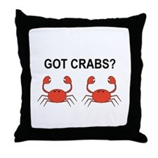Unique Seafood lover Throw Pillow