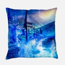 Castle of Glass Everyday Pillow
