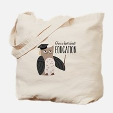Education Tote Bag