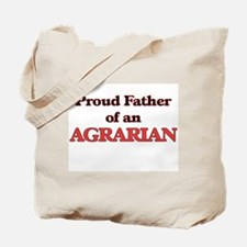Proud Father of a Agrarian Tote Bag