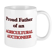 Proud Father of a Agricultural Auctioneer Mugs