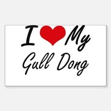 I love my Gull Dong Decal
