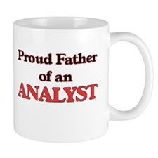 Proud Father of a Analyst Mugs