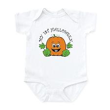 My First Halloween [Pumpkin] Infant Bodysuit