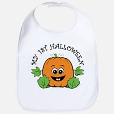 My First Halloween [Pumpkin] Bib