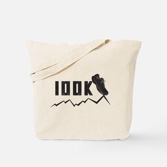 100K Ultra Marathoner Tote Bag