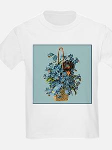 Dachshund in a Flower Basket T-Shirt
