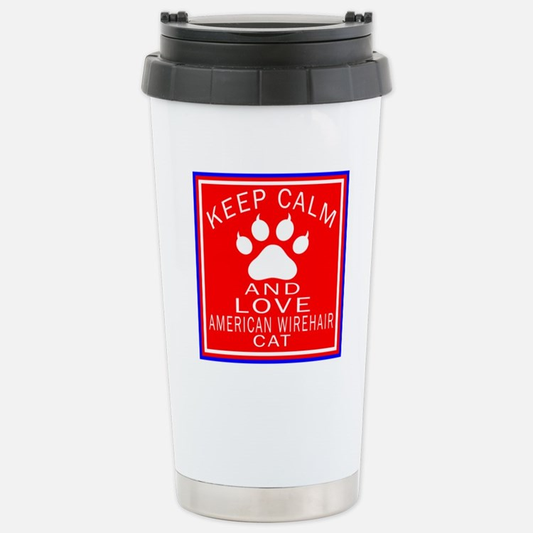 Keep Calm And American Travel Mug