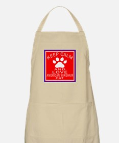 Keep Calm And American Wirehair Cat Apron