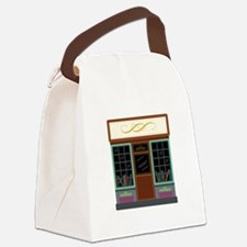 Book Store Canvas Lunch Bag