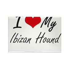 I love my Ibizan Hound Magnets
