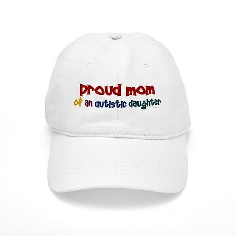 Proud Mom Of Autistic Daughter 2 Cap