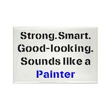 painter sound Rectangle Magnet