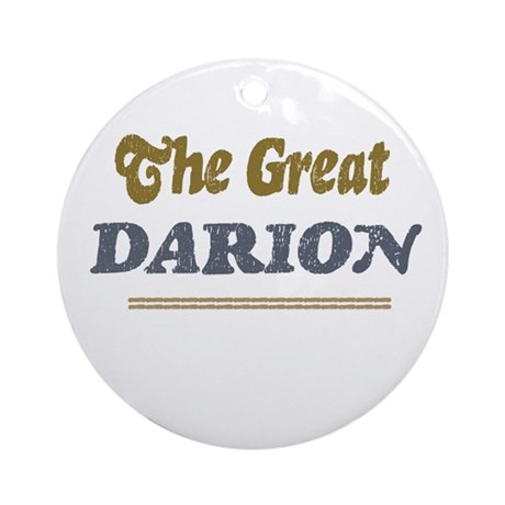 Darion Ornament (Round)