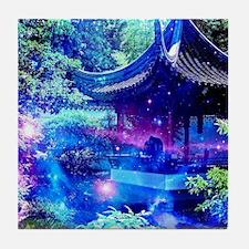 Serenity Garden Tile Coaster