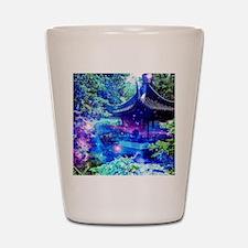 Serenity Garden Shot Glass